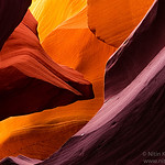 Eagles eye - Lower Antelope canyon