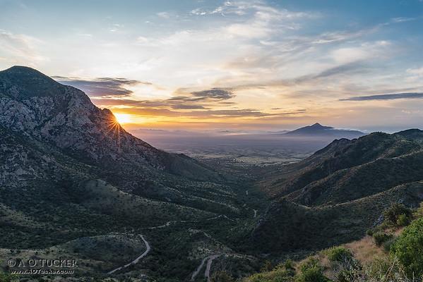Sunrise From Montezuma Pass