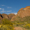 Arch canyon in Organ pipe National Monument
