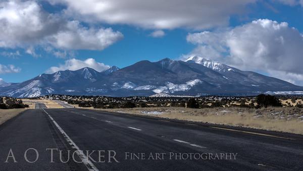 Peaks From Highway 89