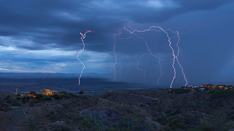 Storm view from Jerome