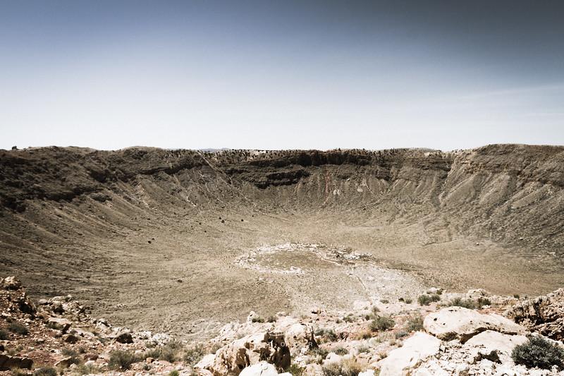 Meteorite Crater Arizona