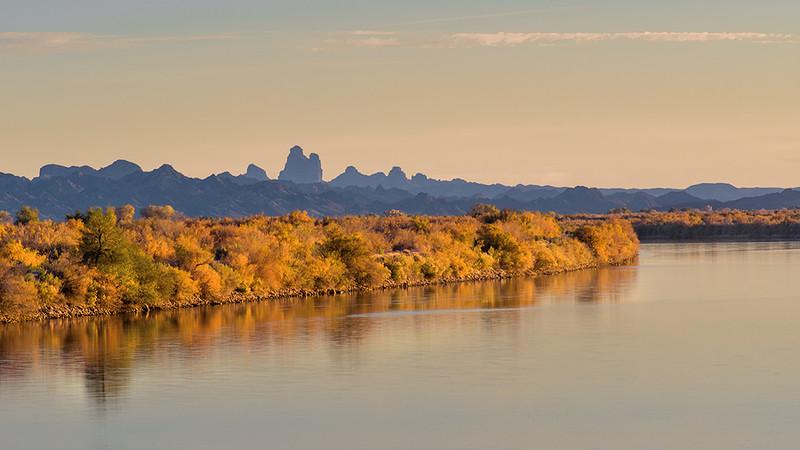 Sunset at Colorado River