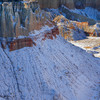 Coal Mine Canyon in snow