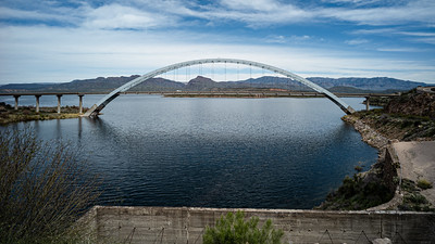 Lake Roosevelt Bridge