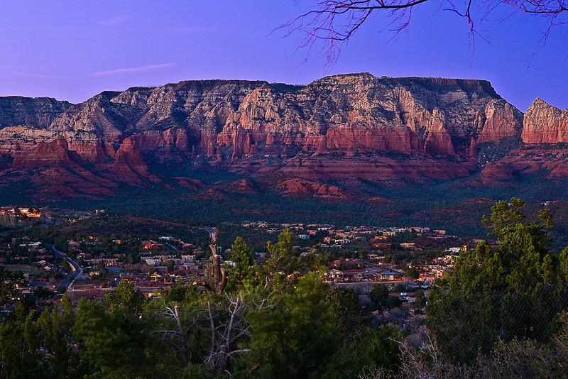 Arizona, Red Rock Country, Sedona, Sunset Landscape, 亚利桑那, 红岩 沙漠, 风景