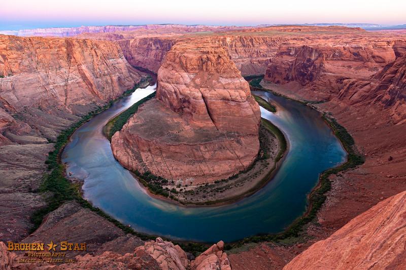 Horseshoe Bend.  Page, Arizona