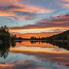 Sunset Reflection @ Goldwater Lake, Prescott, AZ