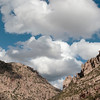 Mt Lemmon with clouds