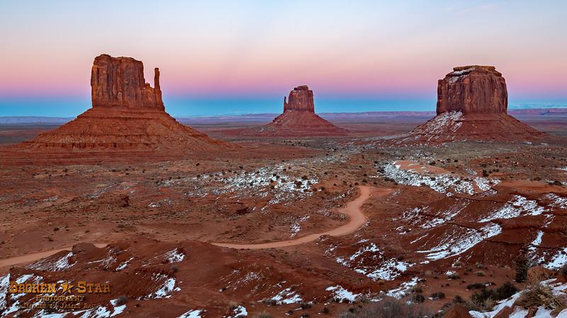 Chilly Sunrise @ Monument Valley, AZ