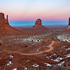 Chilly Sunrise @ Monument Valley, AZ