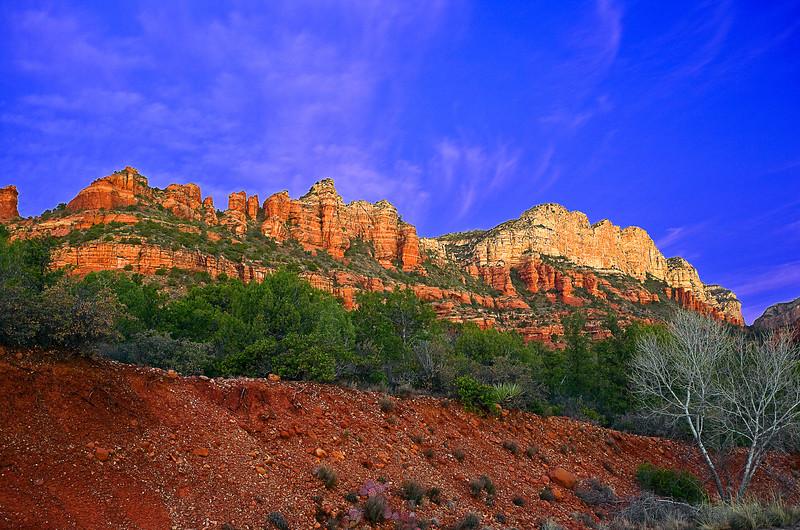 Arizona, Sedona, Red Rock country, Boynton Canyon, Sunrise, Landscape, 亚利桑那, 红岩 沙漠, 风景