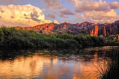 Salt River Sunset II