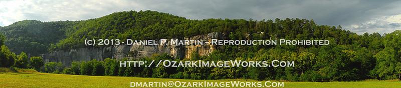 Roark Bluff, Steel Creek  - Summer, 2013