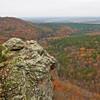 Petite Jean Overlook Arkansas River Valley