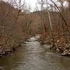 Petite Jean Cedar Creek Footbridge Downstream