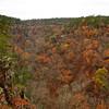 Petite Jean Cedar Falls Overlook The Canyon