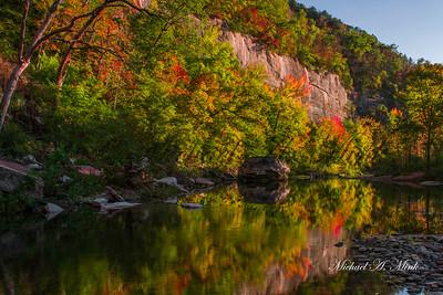 Buffalo River Reflection