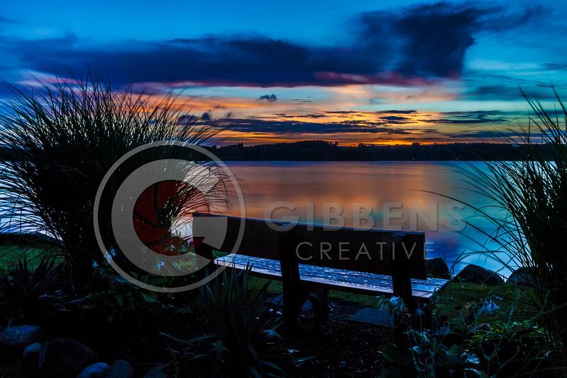 Edinboro Lake, Early morning sunrise