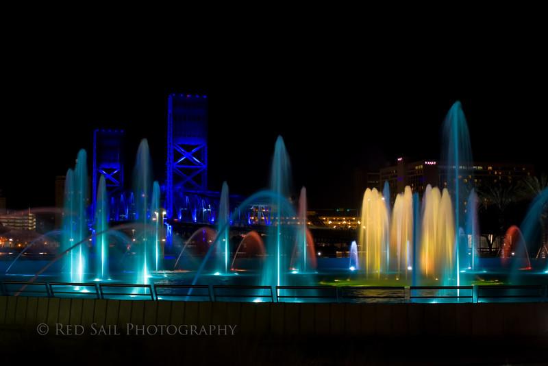 Friendship Fountain 5.. Jacksonville, FL.
