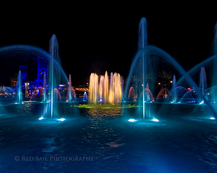 Friendship Fountain 6.. Downtown Jacksonville, FL.