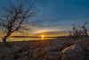 Sunset, Folsom Lake