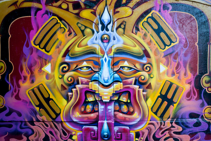 Clarion Alley mural, San Francisco