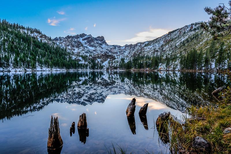 Sardine Lake and Sierra Buttes