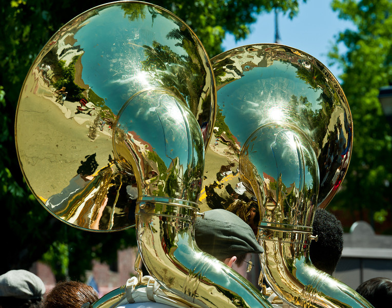 July 4th parade band