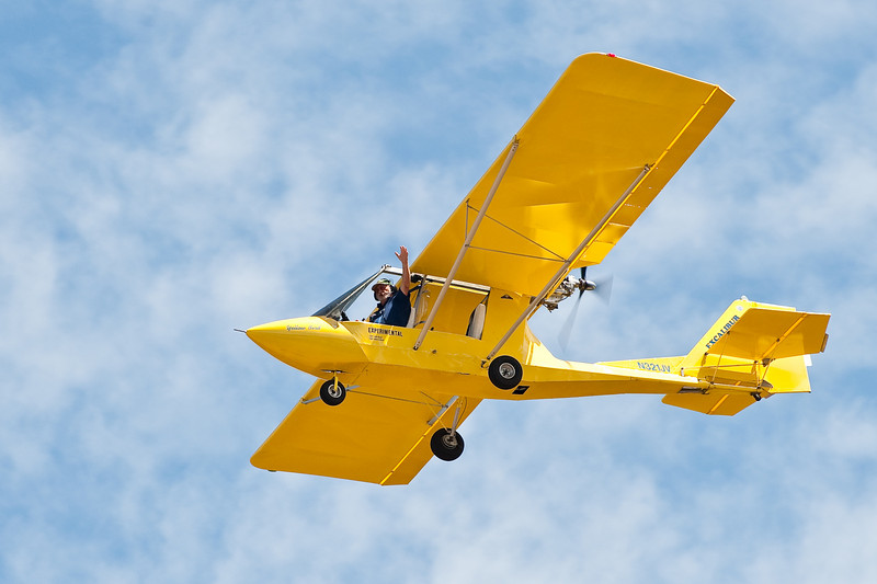 Experimental airplane, Nevada County airshow