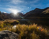 Sunset at North Lake