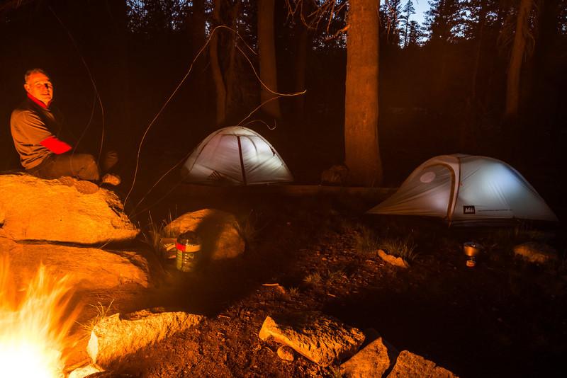 Yosemite campfire