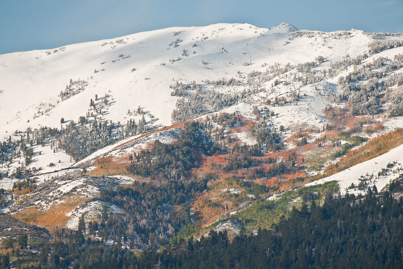 Conway Summit, early snows and fall colors
