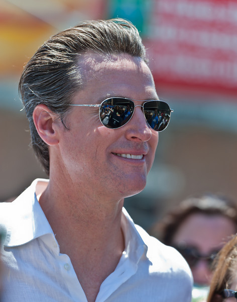 Mayor of San Francisco, Gavin Newsom