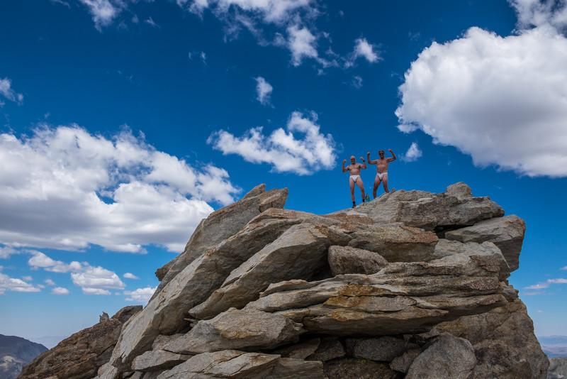 Dharma Bums on  the Matterhorn Peak