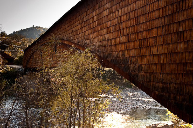 Bridgeport Covered Bridge over the South Yuba River