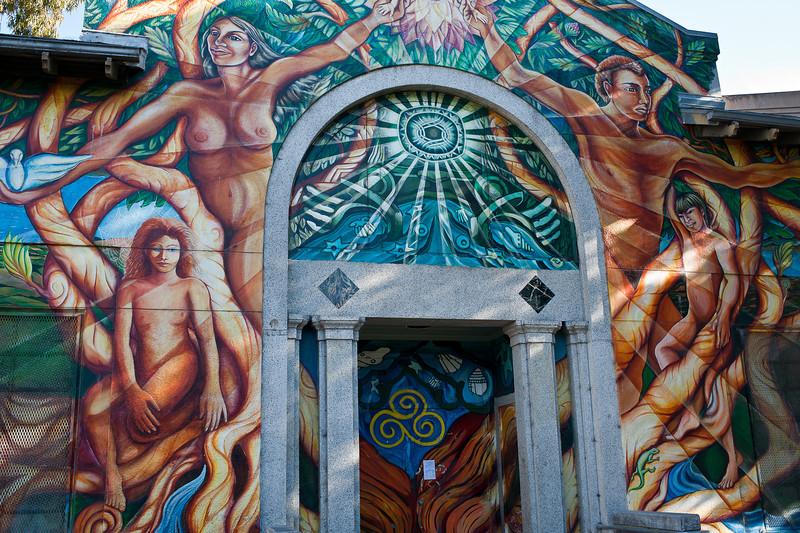Mission pool, San Francisco