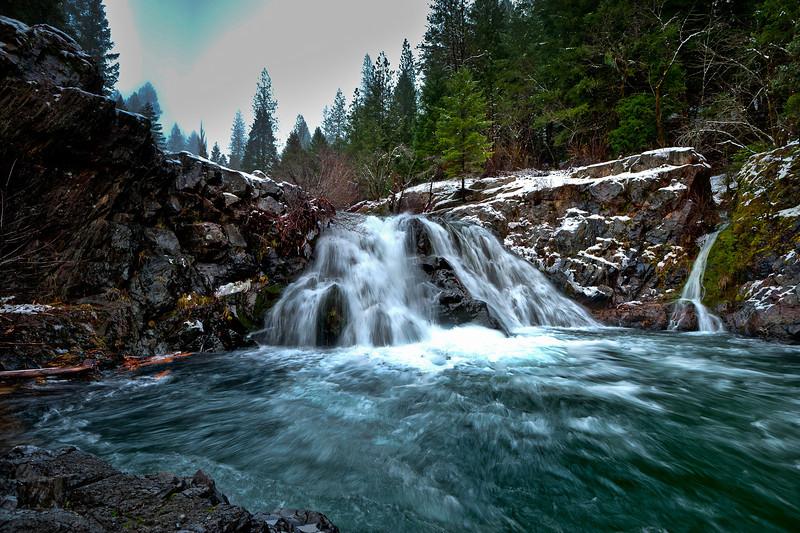 Pauley Falls, Downieville