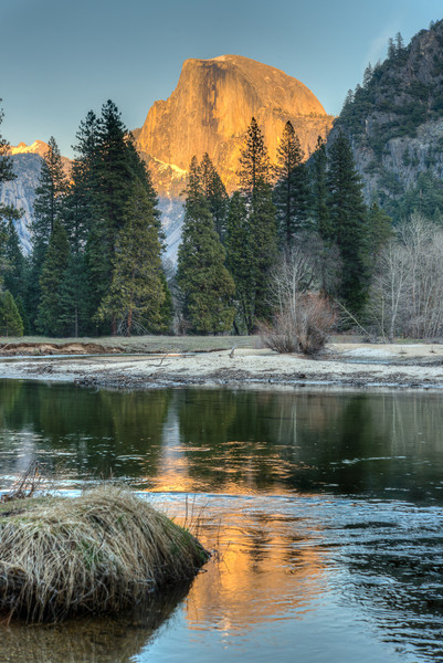 Merced River and Half Dome, Yosemite National Park