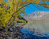Convict Lake, Sierras, and fall aspen