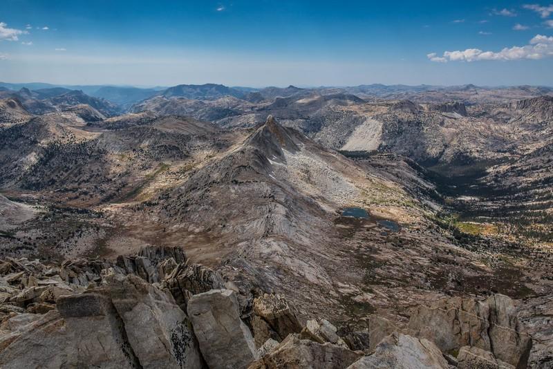 Northern Yosemite National Park from Matterhorn Peak