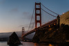 Sunrise, Golden Gate Bridge