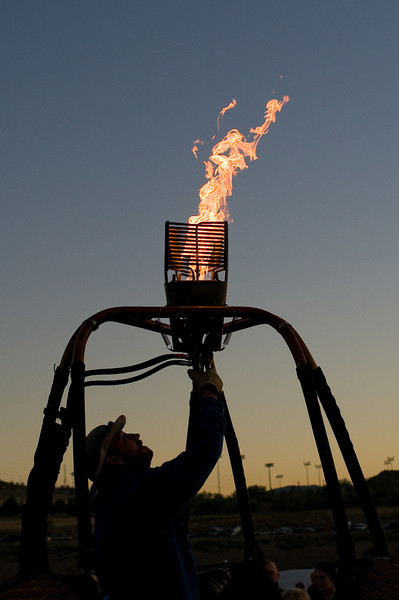 Dawn flame, testing ignition