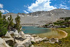 "Chiura Obata's Lake, ""Lake Basin in the High Sierra"", Yosemite National Park"