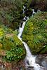Hwy 49 roadside waterfall