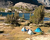 Campsite, Shamrock Lake