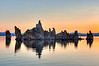 Tufa island, Mono Lake