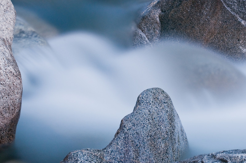 Flowing water and rocks, South Yuba