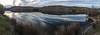 Dredge pond, Yuba gold fields