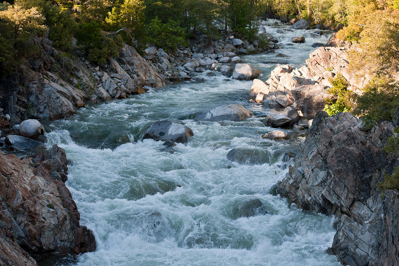 South Yuba River, spring runoff